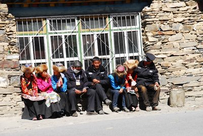 Exhausted Traders, Kharola Glacier, 5040m