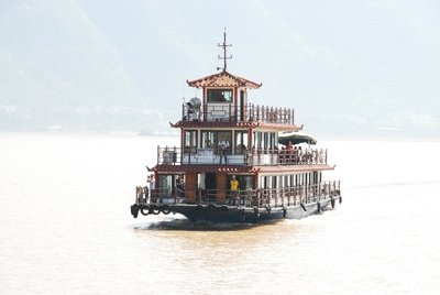 Support Vessel for Little 3 Gorges