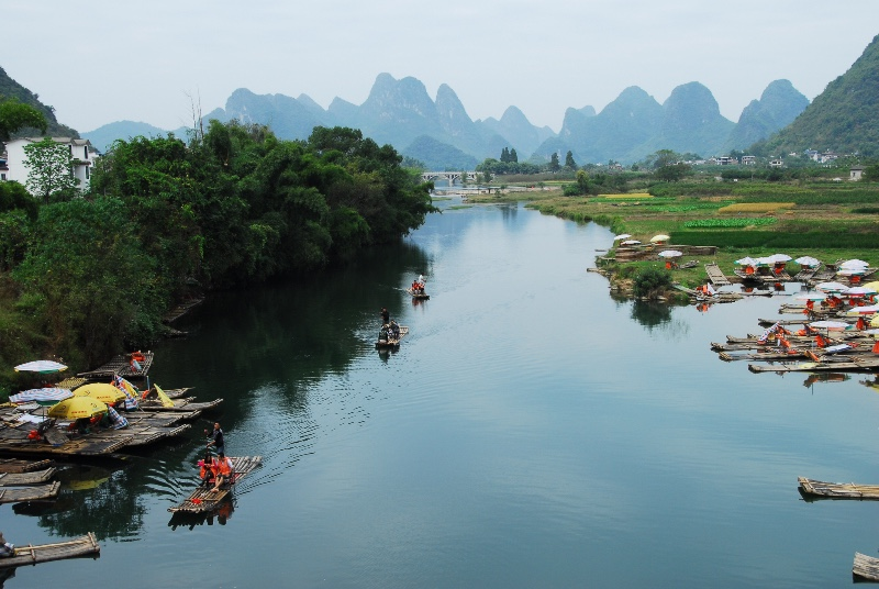 Dragon Bridge, Yulong River