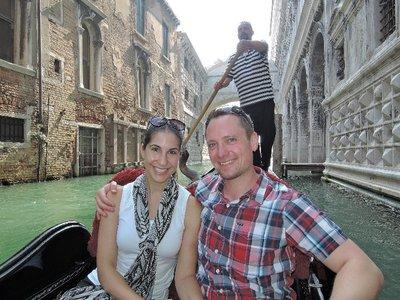 Our gondola ride