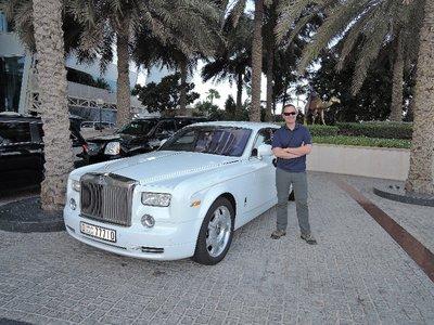 Rolls Royces everywhere