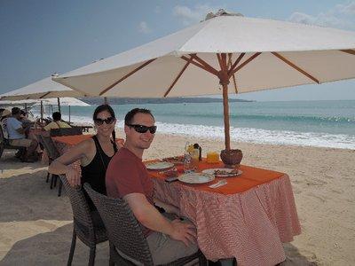 Lunch in Jimbaran