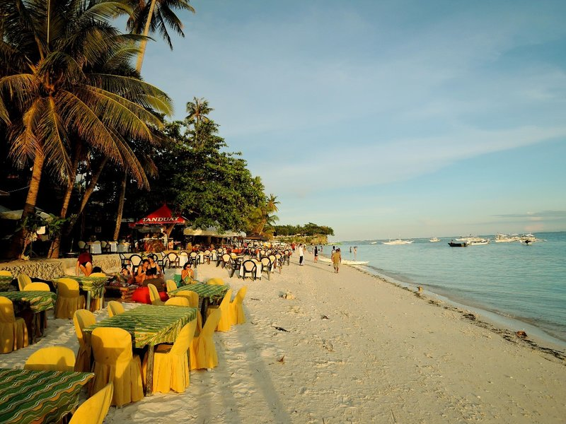 Alona Beach on Panglao Island