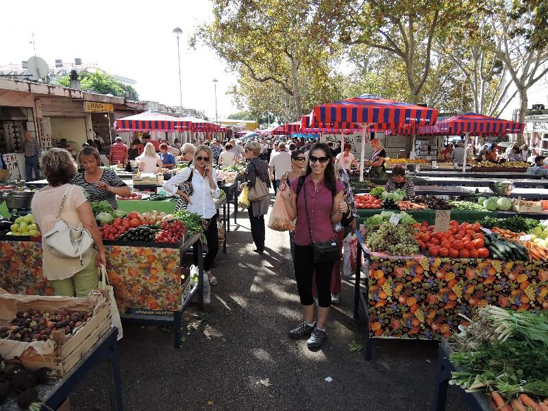 Farmer's Market in Split