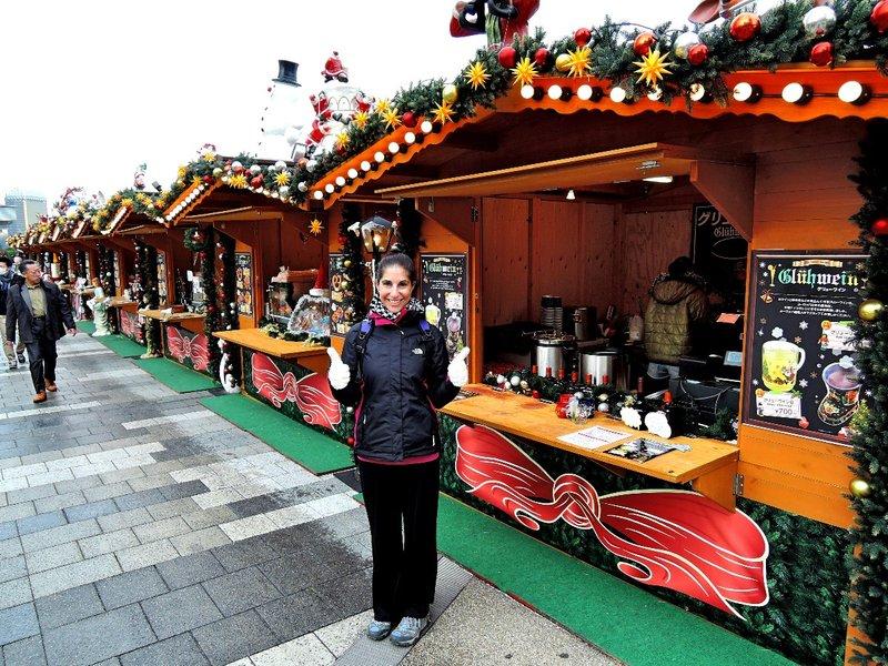 Christmas market in Tokyo