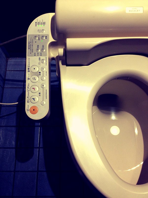 fancy electronic toilets