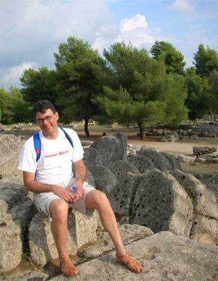 Kevin at Olympia