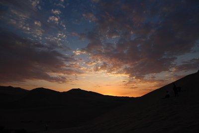 Sunset in Huacachina