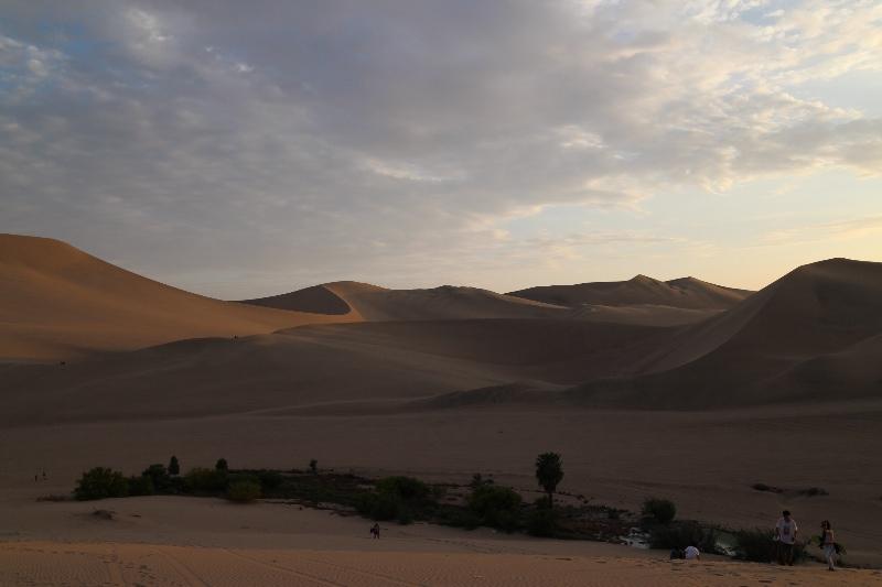 Desert dunes near Huacachina
