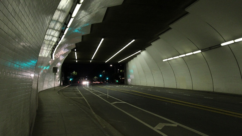 2nd street tunnel entrance