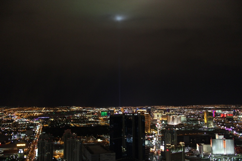 Las Vegas by night (taken from the Stratosphere top deck)