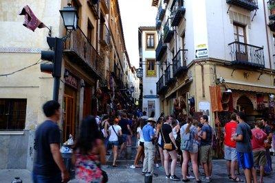 Albaicin street shop
