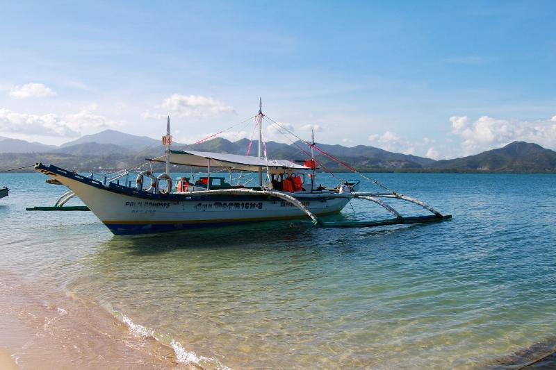 Banka Boat, Palawan, Philippines