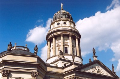 Deutscherdom Cathedral in Berlin, May 2006