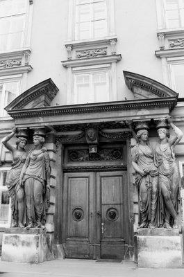 Harry Lime's doorway, The Third Man, Vienna