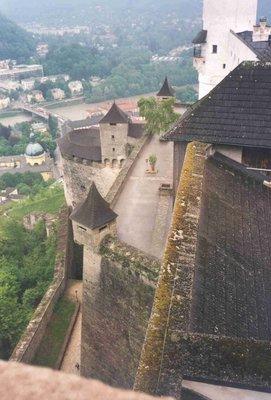 Hohensalzburg Fortress in Salzburg Austria