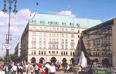 Hotel Adlon near Pariser Platz in Berlin