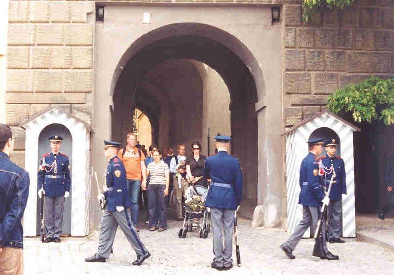 Changing of the Guards at Prague Castle, Czech Republic