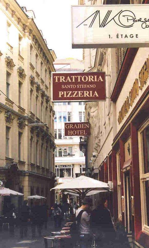 Hotel Graben on Dorotheergasse in Vienna, May 2006