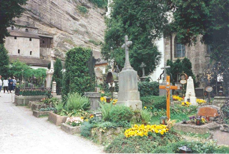 Salzburg Cathedral Cemetery, Austria