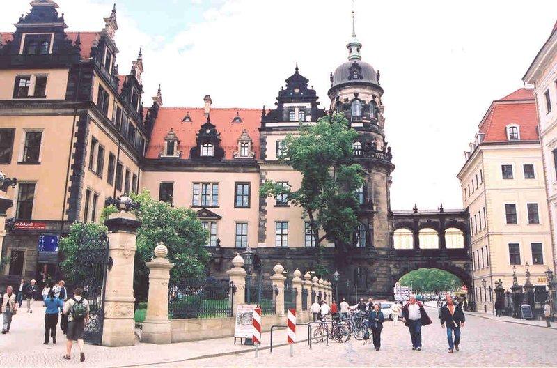 Residenzschloss Castle in Dresden