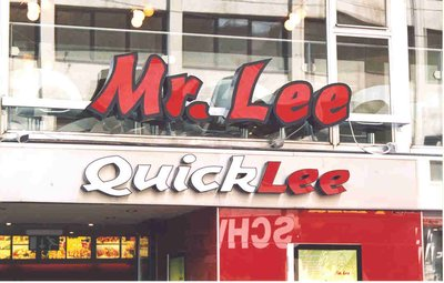 Mr Lee QuickLee Restaurant in Vienna Austria