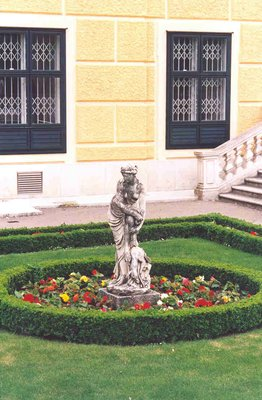 Schonnbrunn Palace west wing, Vienna