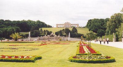 View of the Gloriette at Schonbrunn, Vienna