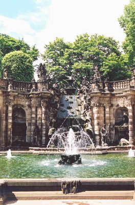 Bath of the Nympths, Zwinger Palace, Dresden