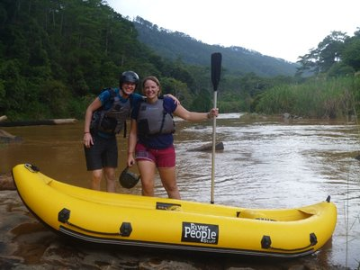Rafting survived