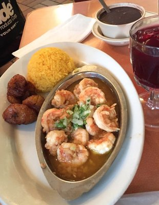 Garlic Shrimp at El Siboney Restaurant in Key West, FL