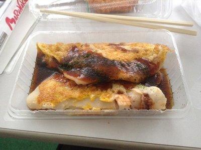 Ikayaki I got from a supermarket.
