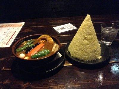 Soup Curry at Asian Bar: Ramai