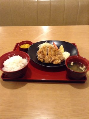 I had Chicken Nanban at a family restaurant in Nobeoka city, Miyazaki prefecture