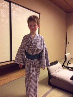 Jack in his kimono