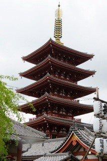 Pagoda at Sensojii