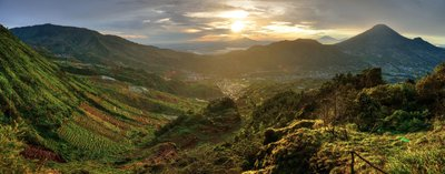 Mt. Dieng Plateu
