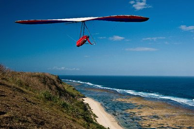 Hang Gliding, Bali