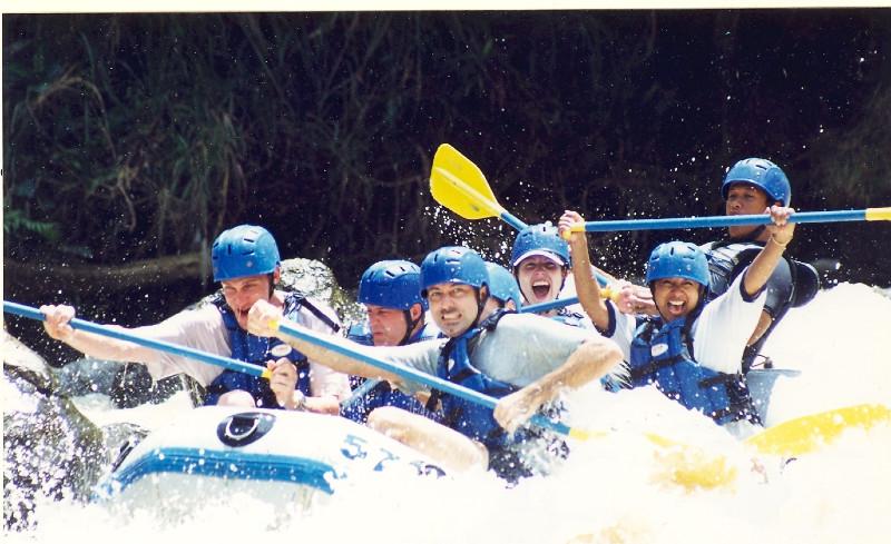 Rafting, Bali