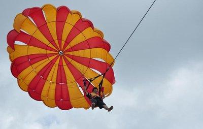 Paragliding, Bali