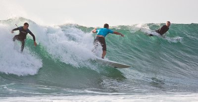 Surfing at Bali