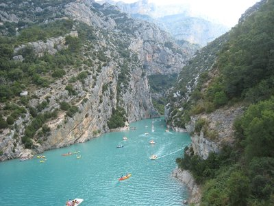 Verdon canyon