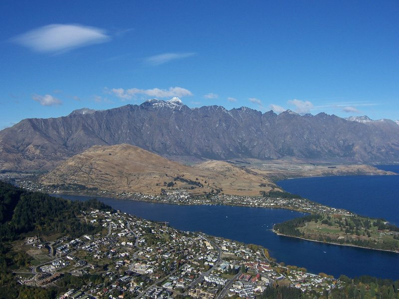 Queenstown-fjell