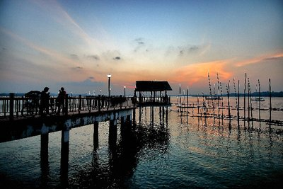 Sunset at Changi Point