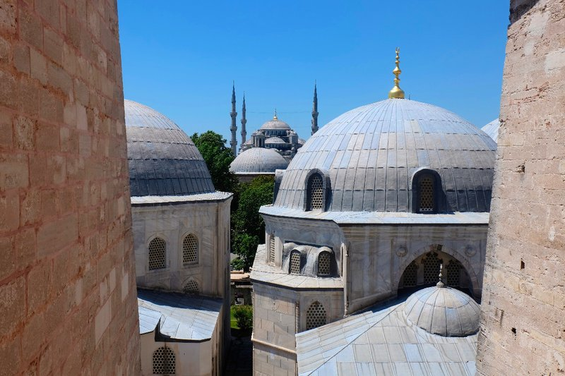 View from Aya Sofia