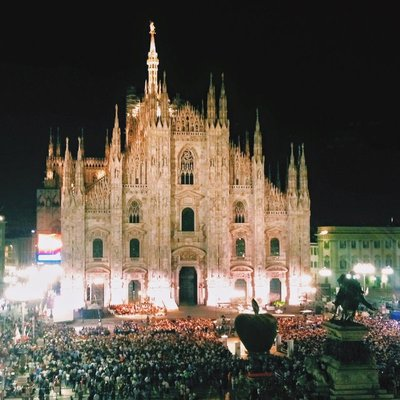 View from room in Milan