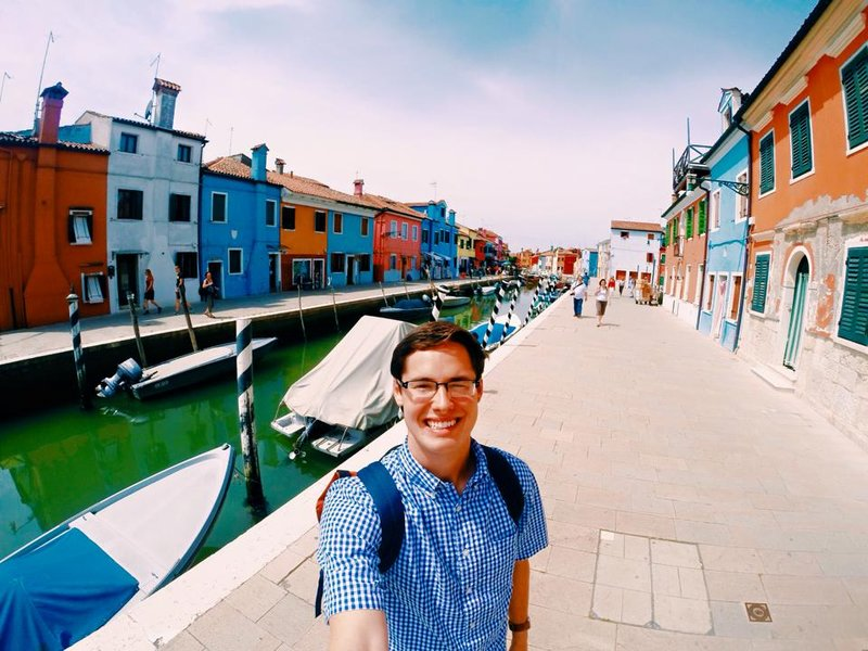Colorful Town of Burano