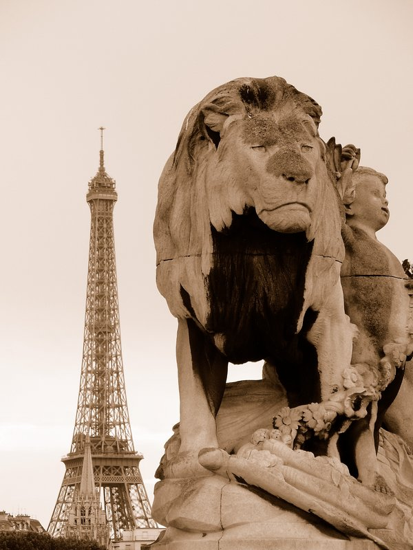 Lion N Tower