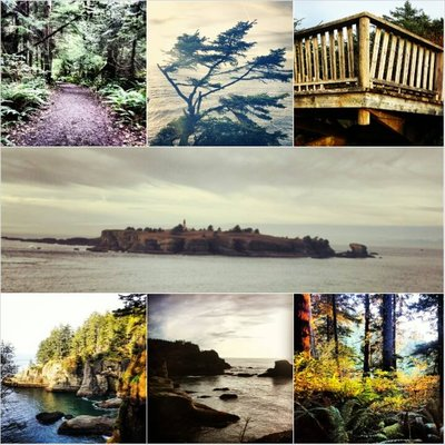 Neah bay collage