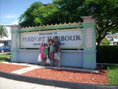 Port of Call - Freeport Harbour Bahamas